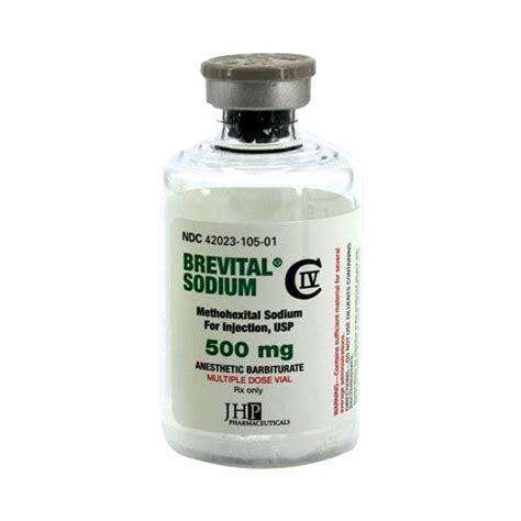 Buy Brevital Sodium Methohexital